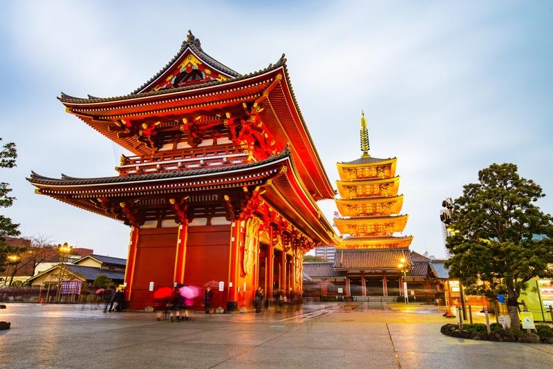 Zájezd Japonsko letem světem