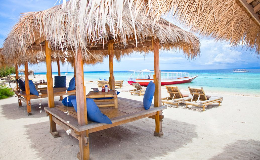 Zájazd panenské pláže na Gili ostrovoch