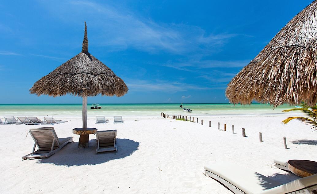 Pláže ostrova Holbox a exotická príroda Yucatánu