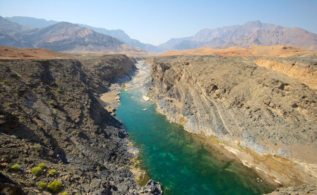 Zájazd hory a púšte Ománu