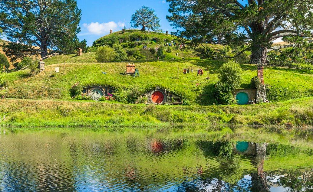 Pán prstenů Nový Zéland Hobitín