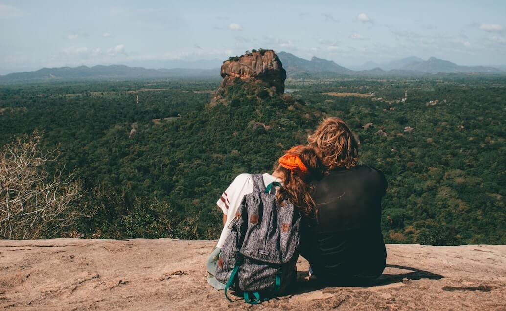výhľad zo skaly Pidurangaly