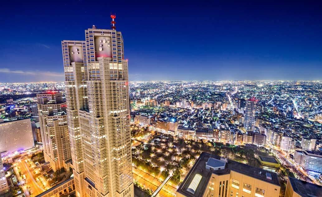 Japonsko a plavba do Jižní Koreje