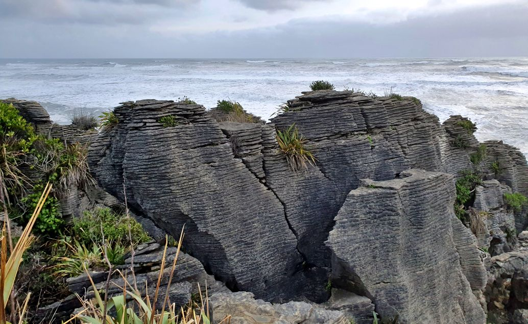 Pán prstenů Nový Zéland Palačinkové útesy