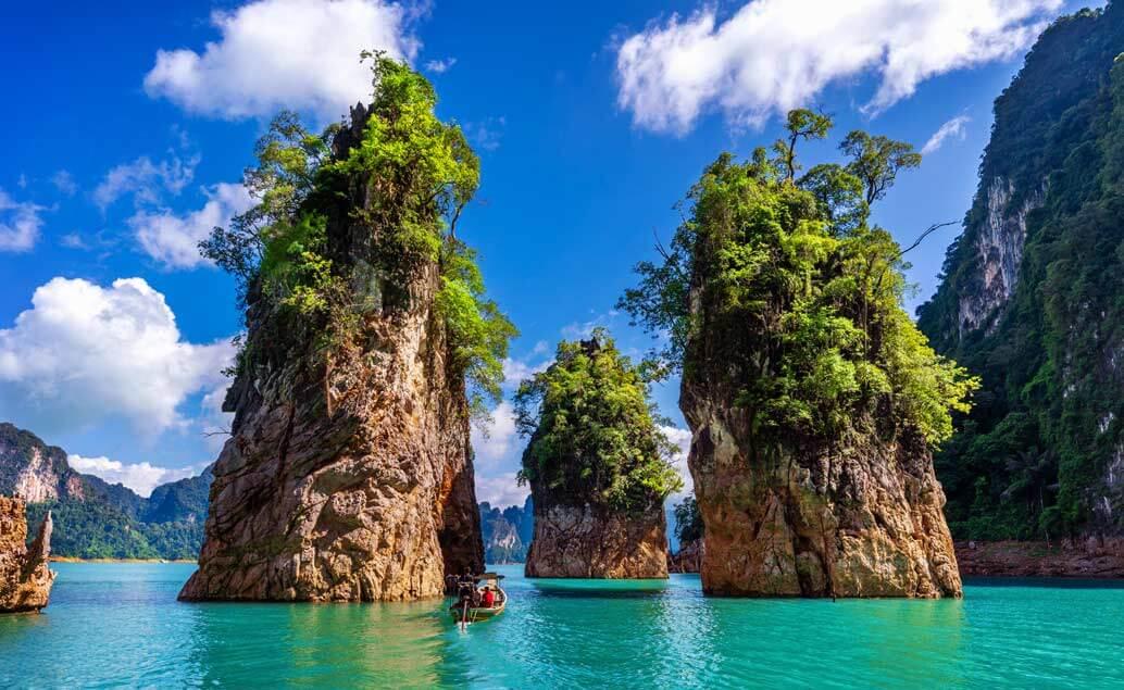 Japonsko a thajské Krabi