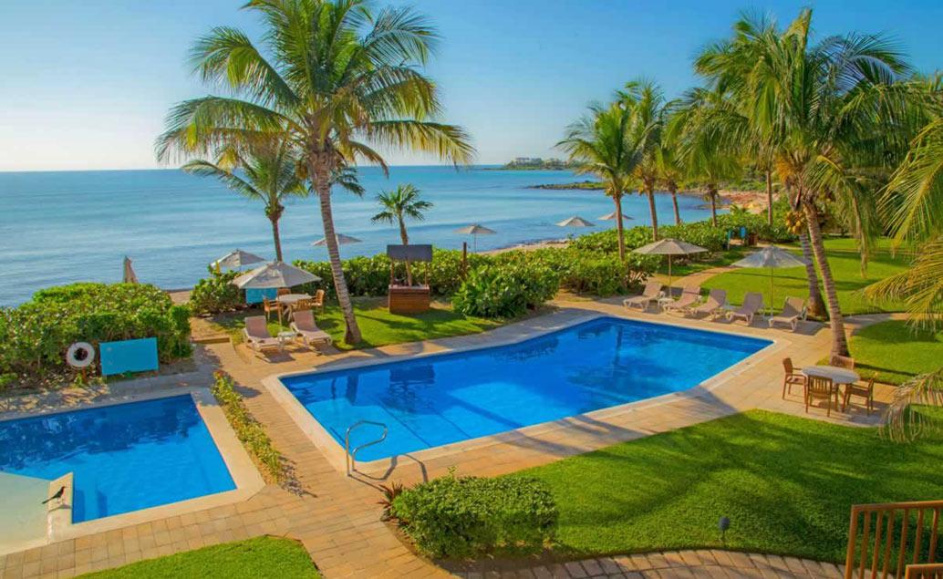 Krásy Yucatánu a pláž Akumal s korytnačkami