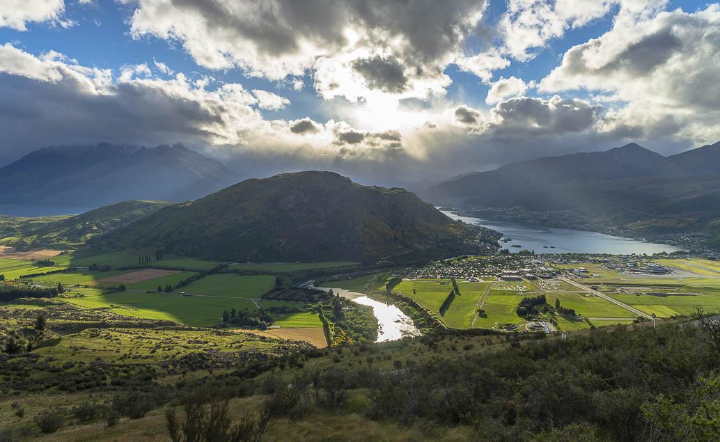 Pán prstenů Nový Zéland Kelvin Heights