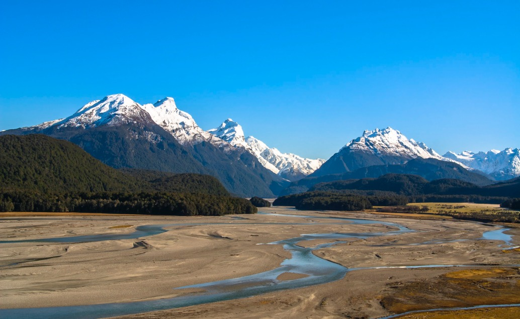 Pán prstenů Nový Zéland Dart River