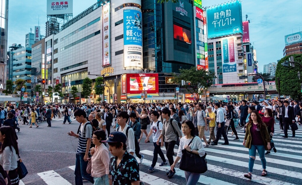 Japonsko aktívne pre mladých