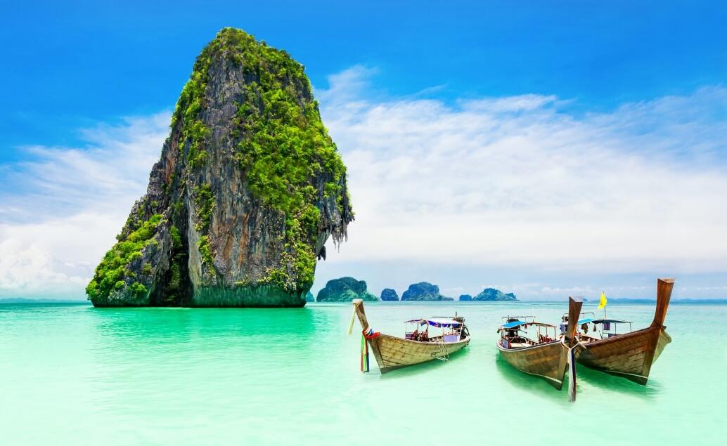 Kombinace Nový Zéland a Thajsko - Krabi