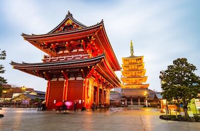 Zájazd Japonsko letom svetom
