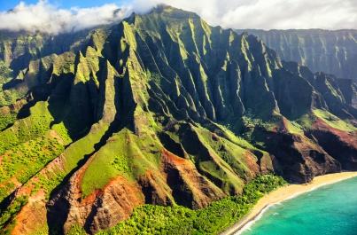 Krásy Havajských ostrovov