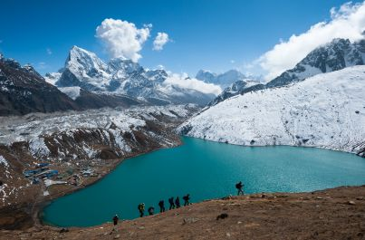 Everest Base Camp a jazero Gokyo