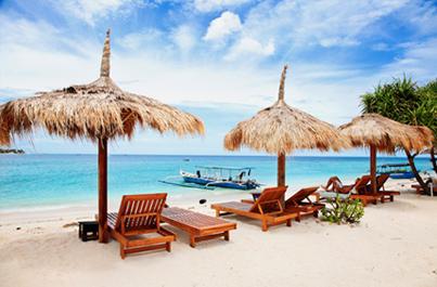 Panenské pláže na Gili ostrovoch