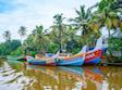 Kráľovská India a houseboat a pláže Keraly